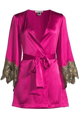 Gilda and Pearl Women's Alexis Silk Robe - - Size Medium-Large