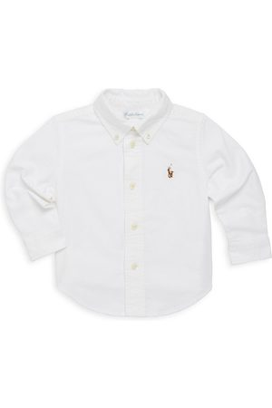 Ralph Lauren Baby Boy's Cotton Oxford Sportshirt - - Size 6 Months