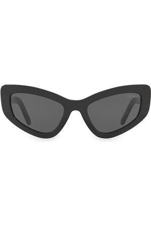 Prada Women's 55MM Solid Cateye Sunglasses