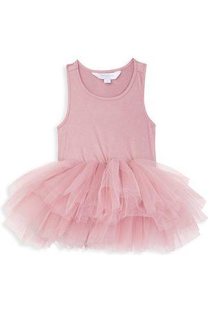 I Love Plum Girls Stockings - Baby's, Little Girl's & Girl's BAE Tiered Tulle Tutu