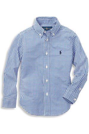 Ralph Lauren Little Boy's & Boy's Gingham Check Shirt - - Size Large (14-16)