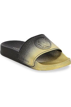 VERSACE Little Boy's & Boy's Logo Slides - - Size 36 EU (4 Child US)