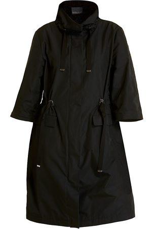 Persona by Marina Rinaldi Women's Funnelneck Raincoat - - Size 18 W