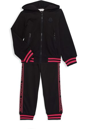Moncler Little Girl's & Girl's 2-Piece Jacket & Track Pants Set - - Size 10