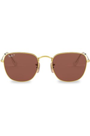 Ray-Ban Women's RB3857 51MM Square Metal Sunglasses