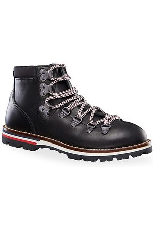 Moncler Little Kid's & Kid's Petit Peak Leather Hiking Boots - - Size 35 EU (3.5 Child US)