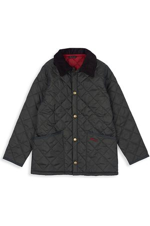 Barbour Little Boy's & Boy's Liddesdale Quilted Jacket - - Size Large (10-11)
