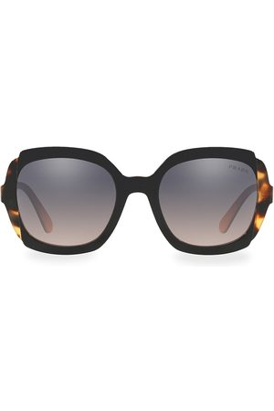 Prada Women's 54MM Two Tone Tortoise Sunglasses