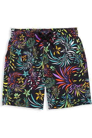Vilebrequin Little Boy's & Boy's Evening Birds Swim Shorts - - Size 4