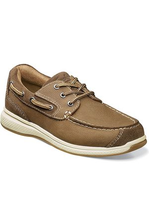 Florsheim Little Kid's & Kid's Great Lakes Jr. Leather Oxfords - - Size 4 (Child)
