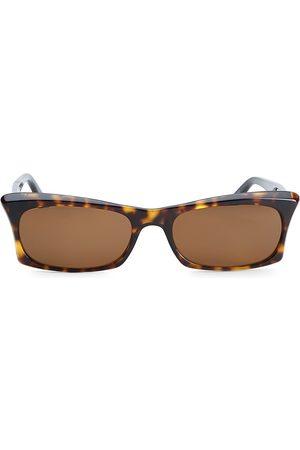 ANDY WOLF Women's 53MM Rectangular Sunglasses