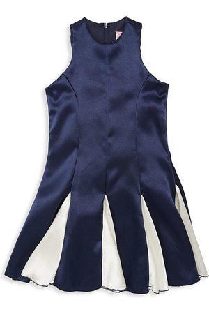 Zoe Girl's Averoe Crushed Sateen Fit & Flare Dress - - Size 14
