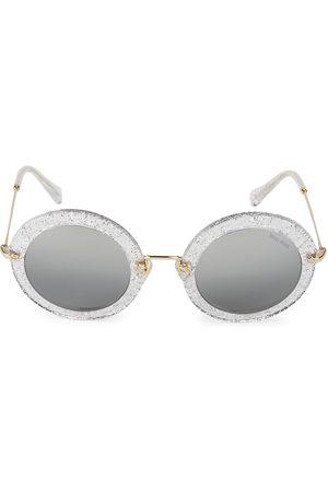 Miu Miu Women's 49MM Round Sunglasses