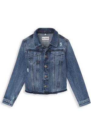 DL1961 DL1961 Premium Denim Little Girl's Manning Denim Jacket - - Size 6-6X