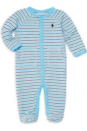 Ralph Lauren Baby Boy's Striped Cotton Footie - - Size 6 Months