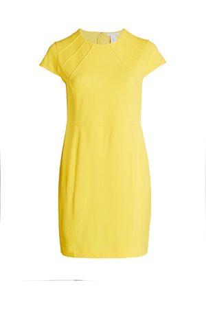 Joan Vass Women's Stretch Pique Stitch Dress - - Size 3X (22-24)