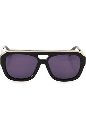 Dax Gabler Women's Oversized Aviator Sunglasses