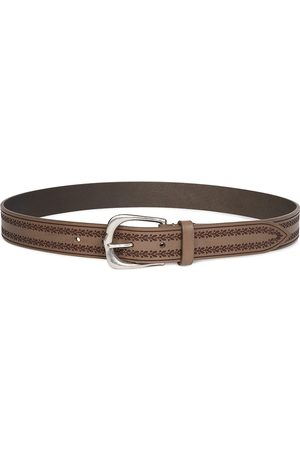 Isabel Marant Women's Linna Embroidered Leather Belt - - Size 95 (XL)
