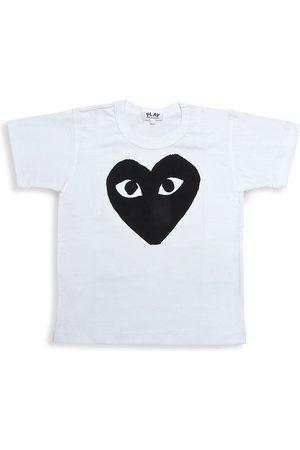 Comme des Garçons Little Kid's Play Kid's Logo T-Shirt - - Size 4