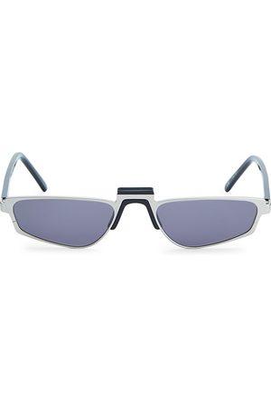 ANDY WOLF Ojala Thin Rectangular Sunglasses
