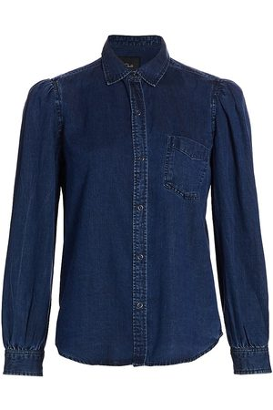 Rails Women's Madelyn Chambray Denim Shirt - - Size Large