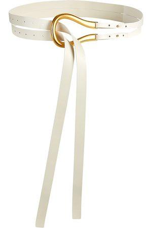 Bottega Veneta Women's French Leather Belt - - Size 90 (Medium)