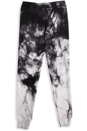 MINNIE ROSE Girl's Cozy Tie-Dye Joggers - - Size 12