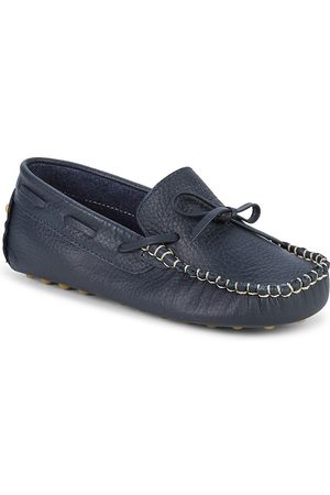 Elephantito Kid's Leather Driving Loafers - - Size 2 (Child)