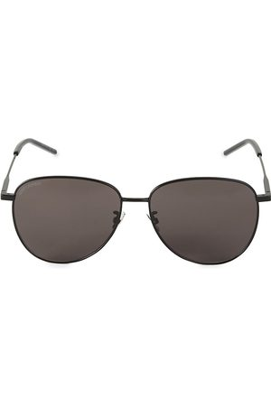 Saint Laurent Women's 60MM Aviator Sunglasses