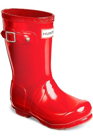 Hunter Girl's High Gloss Original Tall Rain Boots - - Size 4 Boy / 5 Girl (Child)