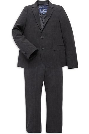 Andy & Evan Baby's & Little Boy's 2-Piece Check Blazer & Trouser Set - - Size 5
