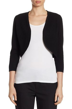 Saks Fifth Avenue Women's COLLECTION Cropped Cashmere Bolero - - Size XS