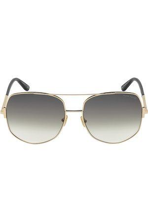 Tom Ford Women's Lennox 62MM Aviator Sunglasses