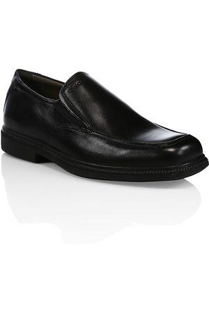 Geox Boy's Leather Slip-On Dress Shoes - - Size 34 EU (3 Child US)