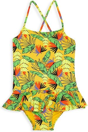 Vilebrequin Little Girl's & Girl's Banana One-Piece Swimsuit - - Size 12