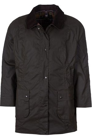Barbour, Plus Size Women's Beadnell Wax Jacket - - Size 1X (14-16)