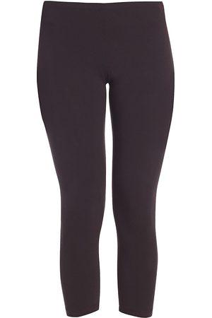 Splendid Women's Cropped Stretch Cotton Leggings - - Size Small