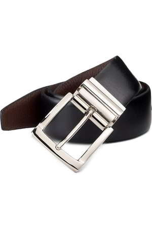 Saks Fifth Avenue Men's COLLECTION Reversible Leather Belt - - Size 46