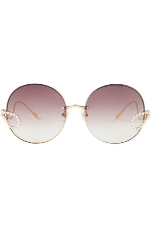 For Art's Sake Passion Fruit 62MM Round Sunglasses