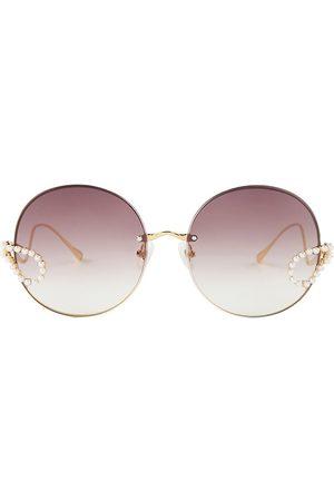 For Art's Sake Women's Passion Fruit 62MM Round Sunglasses