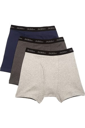Saks Fifth Avenue Men's COLLECTION 3-Pack Boxer Briefs - - Size Large