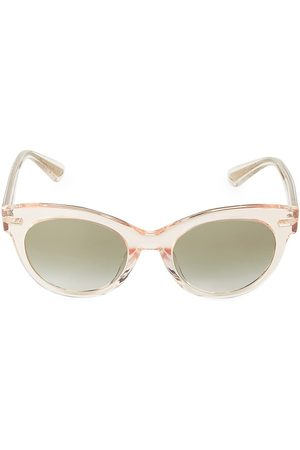 Oliver Peoples The Row Women's Georgica Sun 53MM Cat Eye Sunglasses
