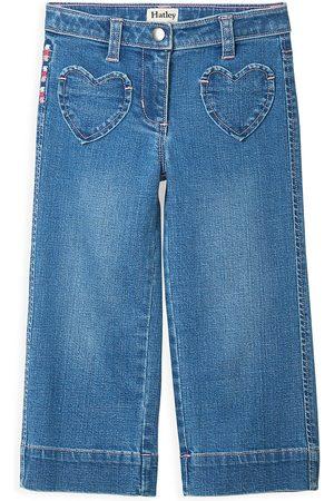 Hatley Girls Wide Leg - Little Girl's & Girl's Stretch Wide-leg Jeans - - Size 5