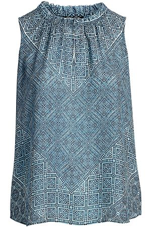 NIC+ZOE, Plus Size Women's Santorini Tiles Tank Top