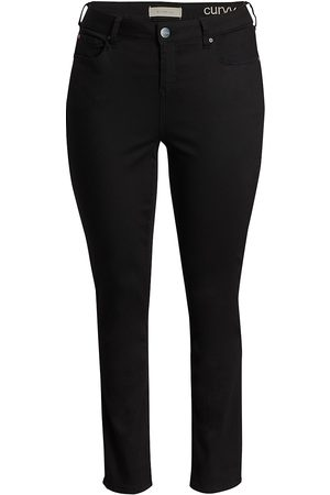 Slink Jeans Plus Women's High-Rise Slim-Leg Jeans - - Size 14 W