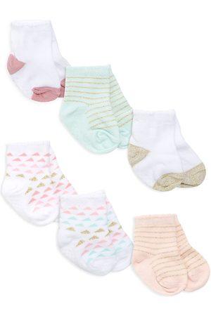 Aden + Anais Baby's Everyday Crews 6-Piece Sock Set
