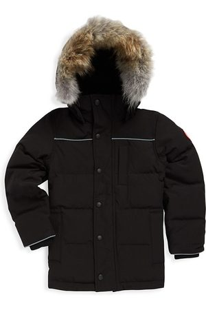 Canada Goose Kid's Eakin Fur Trimmed Quilted Parka - - Size XS (6)