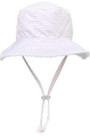 Snapper Rock Baby's Reversible Stripe Bucket Hat - - Size Medium (12-24 Months)
