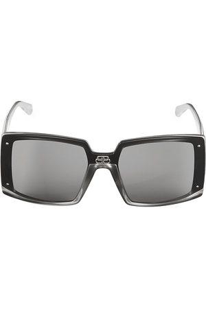 Balenciaga Women's 99MM Oversized Square Sunglasses