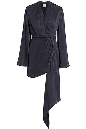 Acler Women's Martin Flute-Sleeve Dress - - Size 4